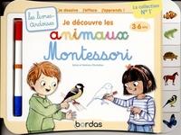 Noémie d' Esclaibes et Sylvie d' Esclaibes - Je découvre les animaux Montessori - Avec un feutre effaçable 2 couleurs.