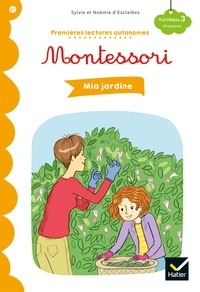 Premières lectures autonomes Montessori Niveau 3 - Mia jardine.