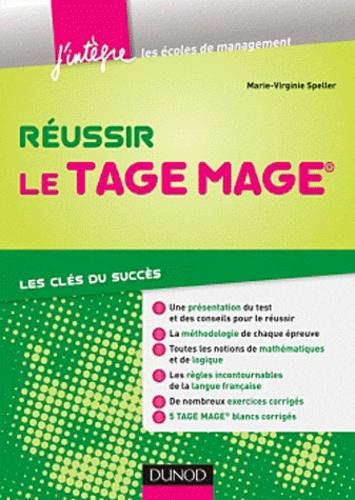 Noémie Speller - Réussir le concours Tage Mage.