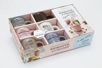 Noémie Strouk et Amandine Honegger - Coffret Chantilly, guimauve et chocolat - Le livre de 20 recettes de mini mug cakes avec 6 mini mugs en céramique.