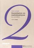 Nolwenn Guedin - Remédiation en mathématiques au quotidien - Adapter sa pédagogie.