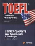 Nomad - TOEFL listening and reading.