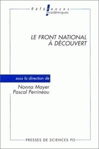Nonna Mayer et René Rémond - Le Front national à découvert.
