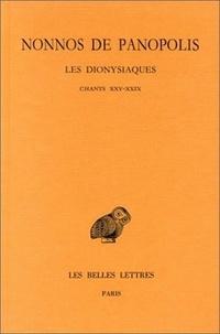 Nonnos de Panopolis - Les Dionysiaques - Tome 9, Chants XXV-XXIX.