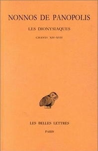 Galabria.be Les Dionysiaques - Tome 6, Chants XIV-XVII Image