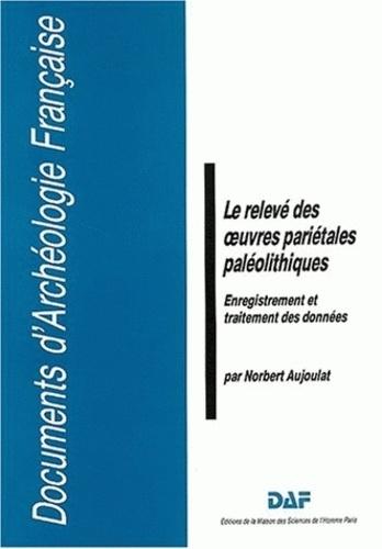 Norbert Aujoulat - Le relevé des oeuvres pariétales paléolithiques. - Enregistrement et traitement des données.