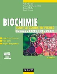 Norbert Latruffe et Françoise Bleicher-Bardeletti - Biochimie.