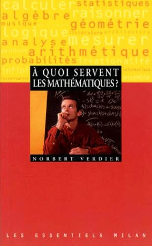 Norbert Verdier - À quoi servent les mathématiques ?.
