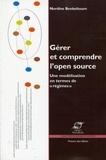"""Nordine Benkeltoum - Gérer et comprendre l'Open Source - Une modélisation en termes de """"régimes""""."""