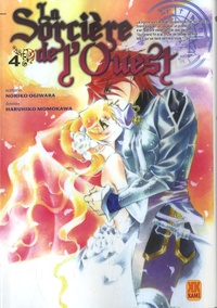 Noriko Ogiwara et Haruhiko Momokawa - La Sorcière de l'Ouest Tome 4 : .