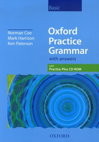 Norman Coe et Mark Harrison - Oxford Practice Grammar 2006 with answers.