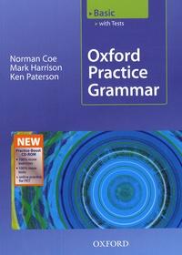 Norman Coe et Mark Harrison - Oxford pratice grammar basic 2008 with answers.