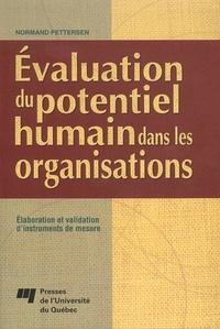 Normand Pettersen - Évaluation du potentiel humain dans les organisations.