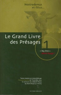 GRAND LIVRE DES PRESAGES.- Tome 1,