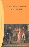 Nouveau monde - La proclamation de l'Empire.