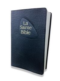 Nouvelle Edition de Genève - La Sainte Bible - Miniature fibro velours noir.