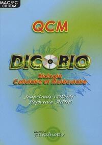 Stéphanie Sueur - QCM Dicobio - Biologie cellulaire et moléculaire, CD-ROM.
