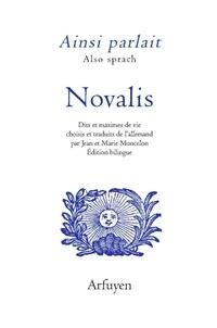 Novalis - Ainsi parlait Novalis.