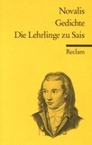 Novalis - Gedichte ; Die Lehrlinge zu Sais.