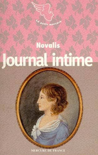 Novalis - Journal intime après la mort de Sophie....