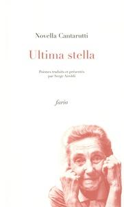 Novella Cantarutti - Ultima stella - Edition français-italien-frioulan.