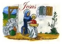 Nuntiavit - Vie de jesus : carnet de coloriage.