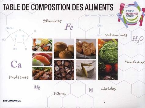 NutriNet-Santé et Serge Hercberg - Table de composition des aliments.