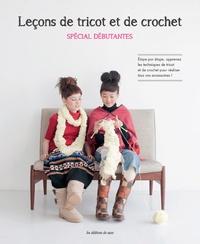 NV Kikaku et Hiroko Suzuki - Leçons de tricot et de crochet - Spécial débutantes.