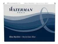 NWL FRANCE - Cartouches Waterman standards Bleu effaçable - Etui de 8 cartouches longues