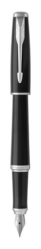 NWL FRANCE - Stylo plume Parker Urban Laque Noire attributs chromés