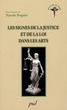 Nycole Paquin - Les signes de la justice et de la loi dans les arts.