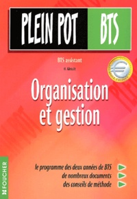 Organisation et gestion BTS assistant - O Girault   Showmesound.org