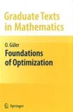 O Güler - Foundations of Optimization.
