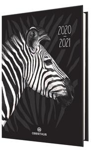 OBERTHUR - Agenda Léopard/Zèbre 2020-2021