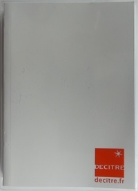 OBERTHUR - Agenda scolaire Decitre Blanc cristal 2019-2020