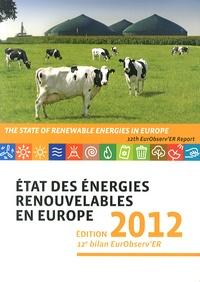 Observ'ER - Etat des énergies renouvelables en Europe - 12e bilan EurObserv'ER.