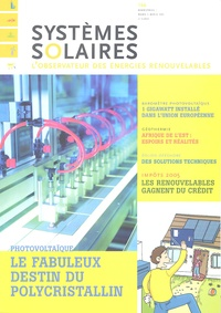 Yves-Bruno Civel - Systèmes solaires N° 166, Mars-Avril 2 : .