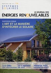 Yves-Bruno Civel - Systèmes solaires N° 178, Mars-avril 2 : L'Art et la manière d'intégrer le solaire.