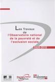 Observatoire de la pauvreté - Les Travaux de l'Observatoire national de la pauvreté et de l'exclusion sociale.