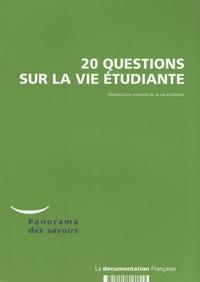 Observatoire vie étudiante - 20 questions sur la vie étudiante.
