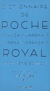 Obunsha - Dictionnaire de poche Royal - Français-japonais et japonais-français.