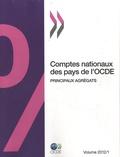 OCDE - Comptes nationaux des pays de l'OCDE - Volume 1, Principaux agrégats : 2012.