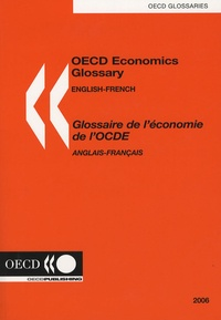 OCDE - Glossaire de l'économie de l'OCDE - Anglais - français.