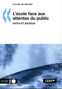 OCDE - L'école face aux attentes du public - Faits et enjeux.