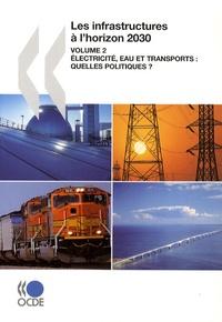 Histoiresdenlire.be Les infrastructures à l'horizon 2030 - Volume 2, Electricité, eau et transports : quelles politiques ? Image