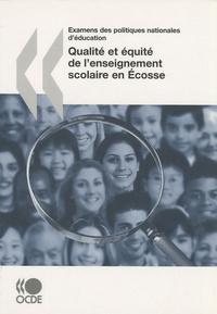 OCDE - Qualité et équité de l'enseignement scolaire en Ecosse.