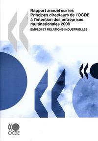 Histoiresdenlire.be Rapport annuel sur les Principes directeurs de l'OCDE à l'intention des entreprises multinationales 2008 - Emploi et relations industrielles Image