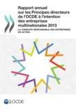 OCDE - Rapport annuel sur les principes directeurs de l'OCDE à l'intention des entreprises multinationales.