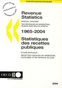 Deedr.fr Statistiques des recettes puliques 1965-2004 Image