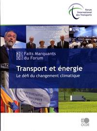 Histoiresdenlire.be Transport et énergie - Le défi du changement climatique, Faits marquants du Forum 2008 Image